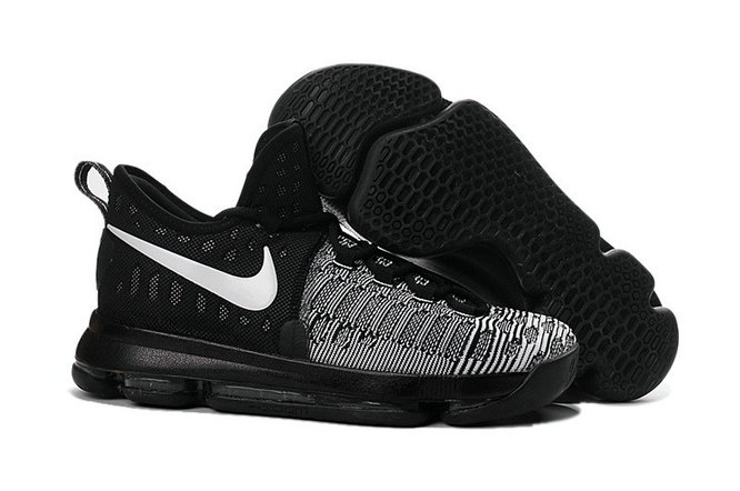 Kids Nike Kevin Durant 9 Grey Black