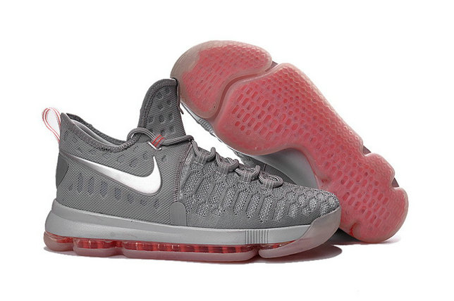 Kids Nike Kevin Durant 9 Pink Grey