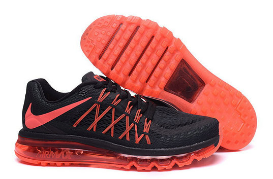Cheap Wholesale Nike AirMax 2015 Orange Black