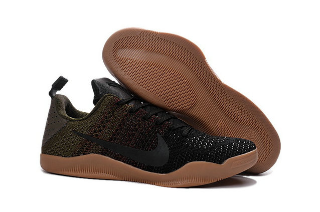 Cheap Wholesale NikeKobe 11 Brown Black Grey