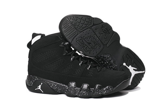 Cheap Wholesale NikeAirJordan 9 Black White