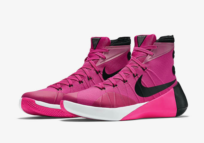 Nike Hyperdunk 2015 Cheap Wholesale On Sale Think Pink