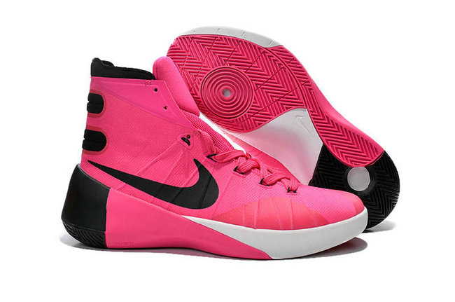 Nike Hyperdunk 2015 Cheap Wholesale On Sale Hyper Pink Black White