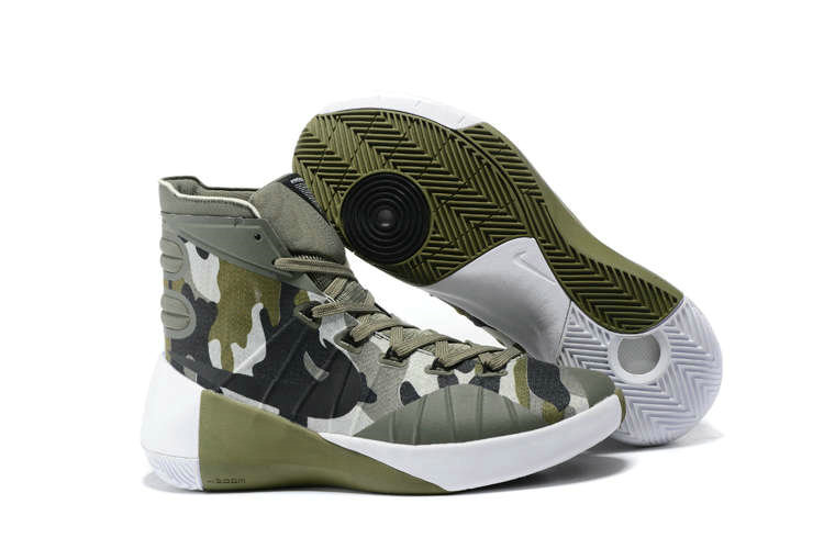 Cheap Wholesale Nike Hyperdunk 2015 Cheap Wholesale On Sale Camouflage Green