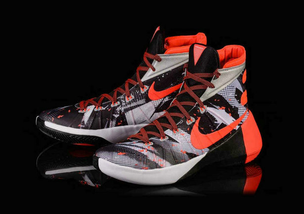Cheap Wholesale Nike Hyperdunk 2015 White Black Bright Crimson