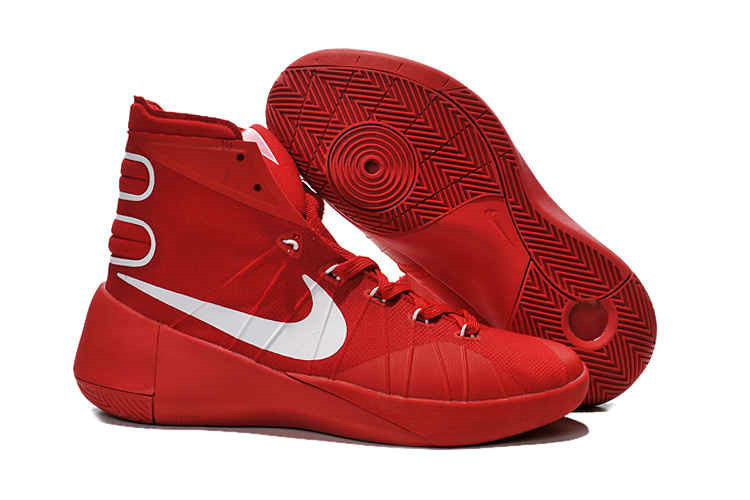 Cheap Wholesale Nike Hyperdunk 2015 Red Metallic Silver