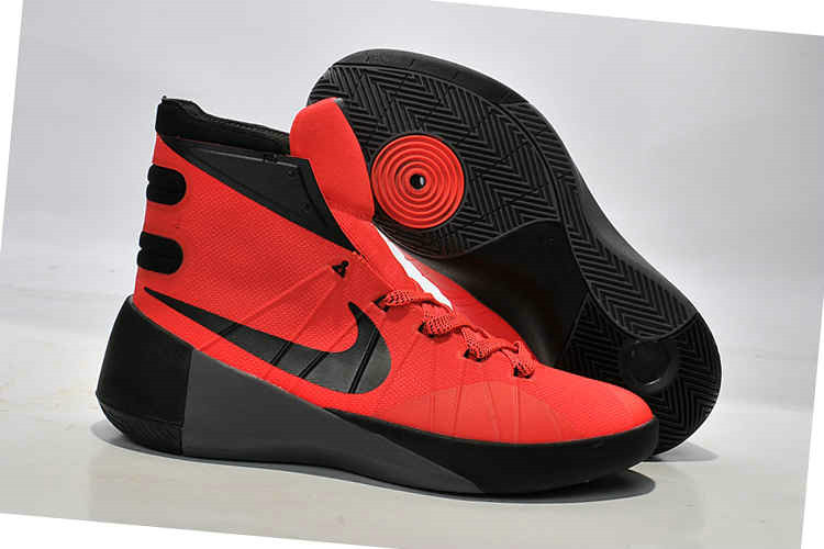Cheap Wholesale Nike Hyperdunk 2015 Red Black