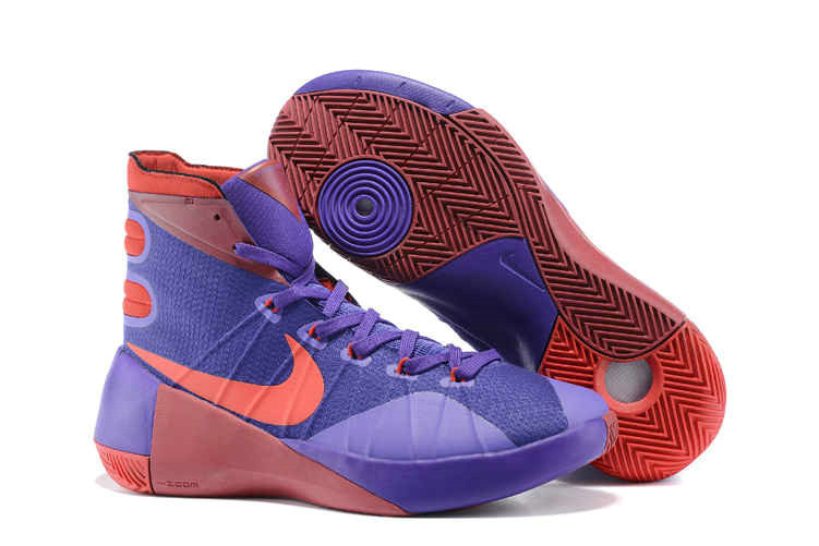 Cheap Wholesale Nike Hyperdunk 2015 Purple Sport Red