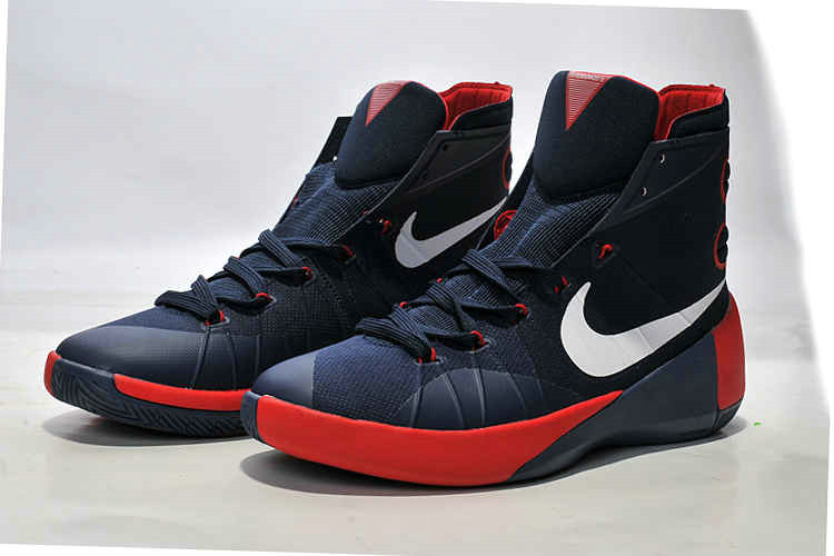 Cheap Wholesale Nike Hyperdunk 2015 Navy Silver Red