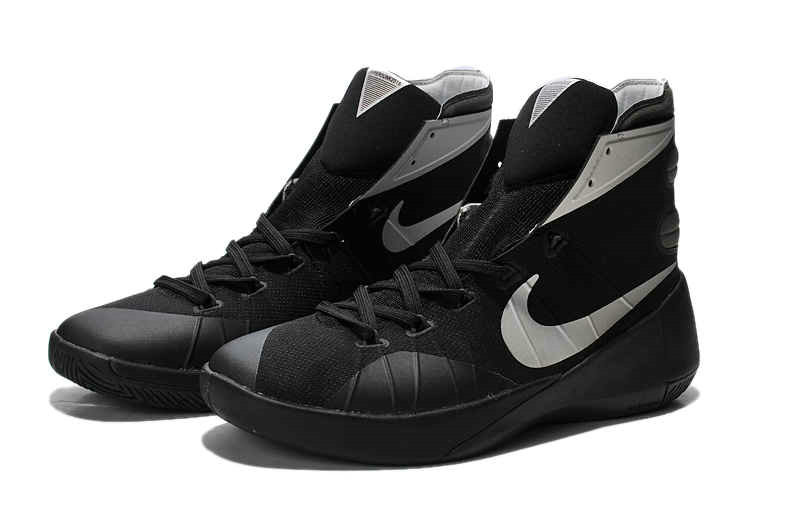 Cheap Wholesale Nike Hyperdunk 2015 Blackout Black Silver