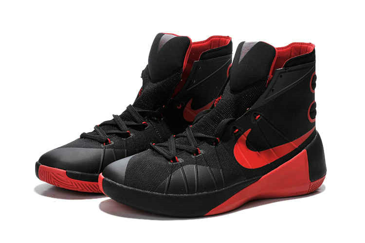 Cheap Wholesale Nike Hyperdunk 2015 Black Red