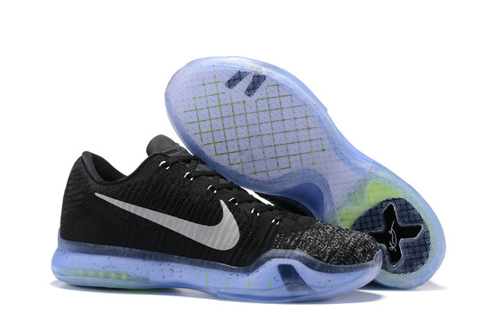 Cheap Wholesale Nike Zoom Kobe10Flyknit Black Grey