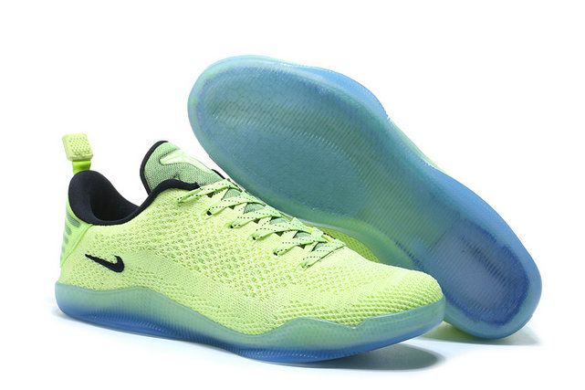 Cheap Wholesale Nike Zoom Kobe11 Grass Green Black Light Blue