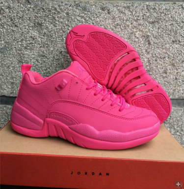 Cheap Wholesale Nike AirJordan 12 All Pink