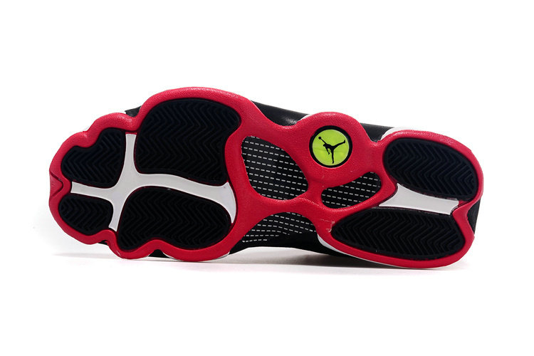 Cheap Wholesale Womens Air Jordan 13 Retro Low Black Red White