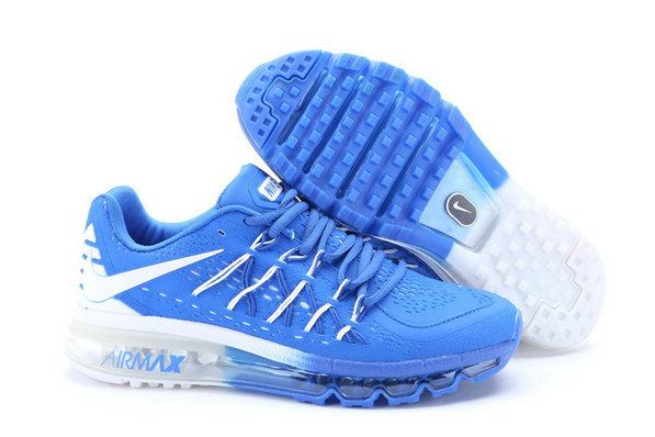 Cheap Wholesale Nike Air Max 2015 White Blue