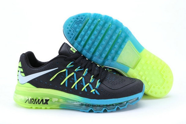 Cheap Wholesale Nike Air Max 2015 Blue Black Green