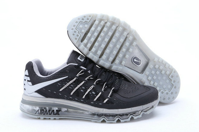 Cheap Wholesale Nike Air Max 2015 Grey Black