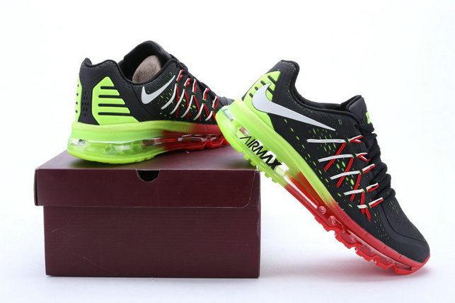 Cheap Wholesale Nike Air Max 2015 Red Black Green