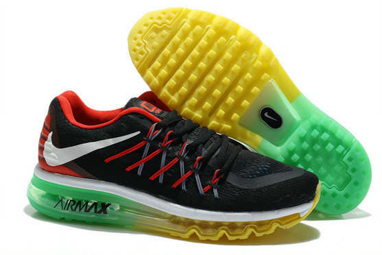 Nike Air Max 2015 Atomic Black Red Yellow