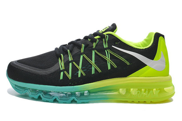Nike Air Max 2015 Black Green Blue