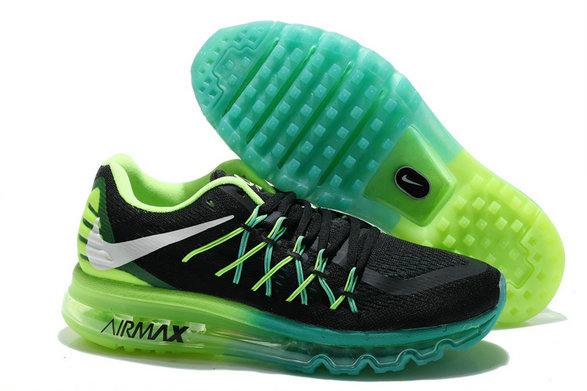 Nike Air Max 2015 Fluorescent Green Black