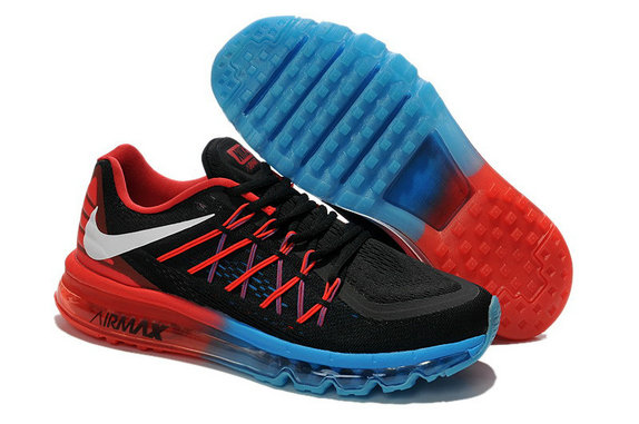 Nike Air Max 2015 Sport Blue Black Red