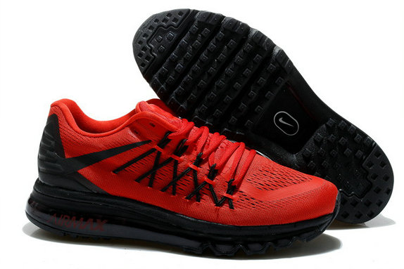 Nike Air Max 2015 University Red Black