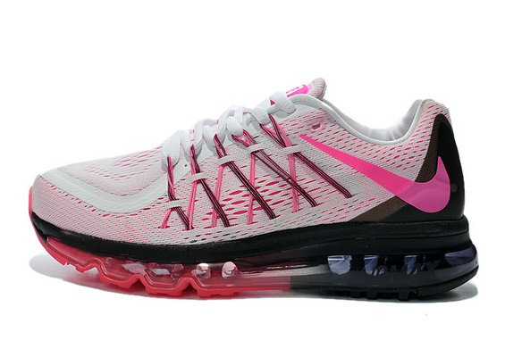 Cheap Wholesale Air Max 2015 Women Pink White Red Black