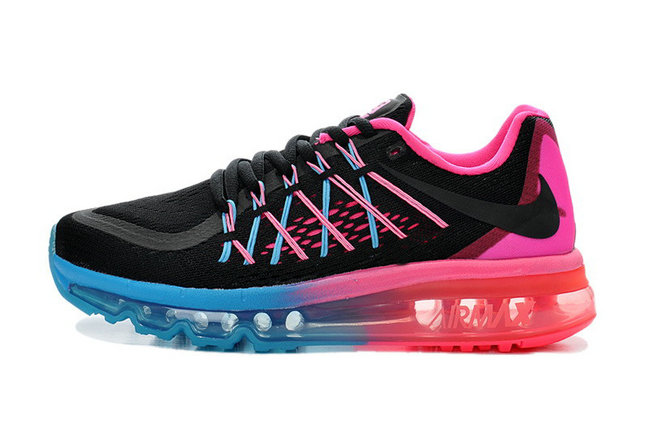 Cheap Wholesale Air Maxs 2015 Womens Blue Pink Black