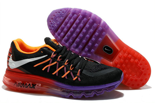 Nike Wmns Air Max 2014 Black Purple Red