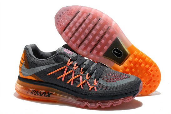 Nike Wmns Air Max 2014 Black Sail Atomic Orange