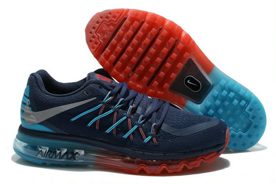 Nike Wmns Air Max 2015 Graphite Blue Red