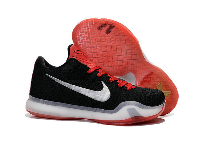 Cheap Wholesale Nike Zoom Kobe 10 X Red Grey Black White