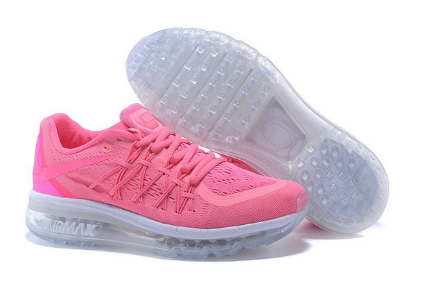 All Pink Grey Air Max 2015 Shoes