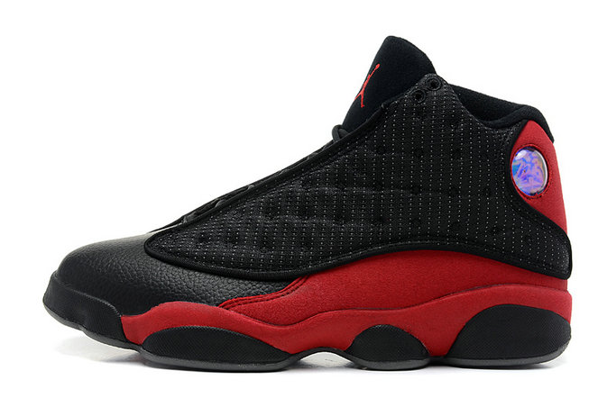 Cheap Wholesale Air Jordan 13 Retro Bred Black Varsity Red-White For Sale Online