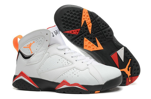 Cheap Wholesale Air Jordan 7 (VII) White Black-Cardinal Red-Bronze For Sale