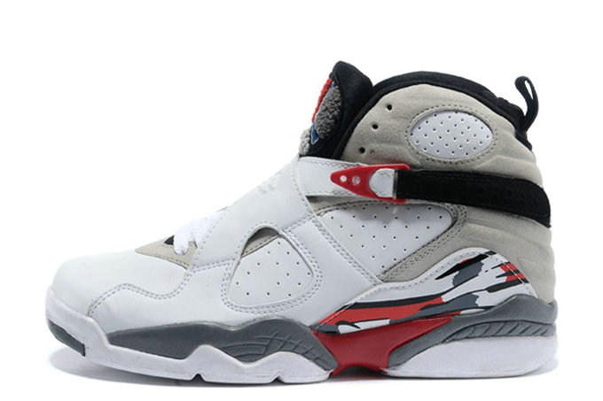 Cheap Wholesale Air Jordan 8 Retro Bugs Bunny White Black-True Red For Sale Online