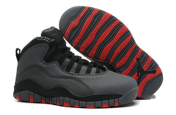 Cheap Wholesale Air Jordan 10 (X) Retro Cool Grey Infrared-Black For Sale Online