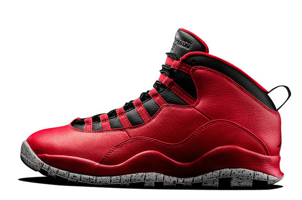For Sale Cheap Wholesale Air Jordan 10 Red Cement Remastered For 2015 Vivid Red Black White