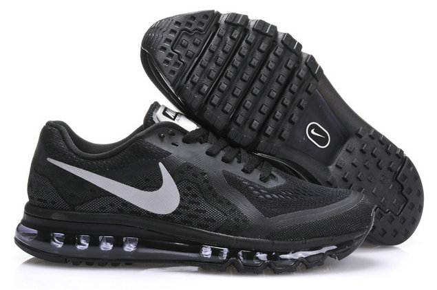 Nike Air Max 2014 Black and silver