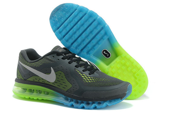 Nike Air Max 2014 Charcoal gray green month