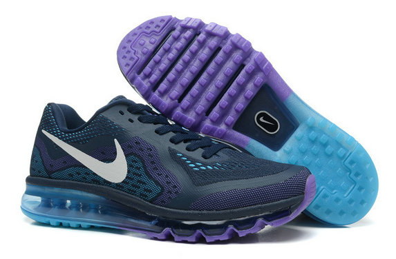 Nike Air Max 2014 Man Blue Purple Custom