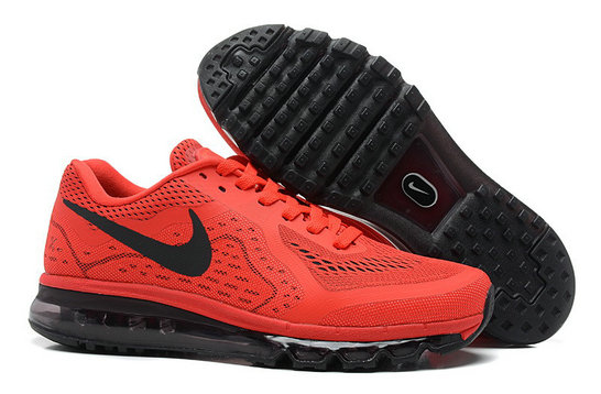 Nike Air Max 2014 Man Red Black Custom