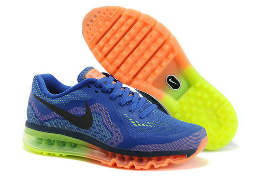 Nike Air Max 2014 Royal Blue Green
