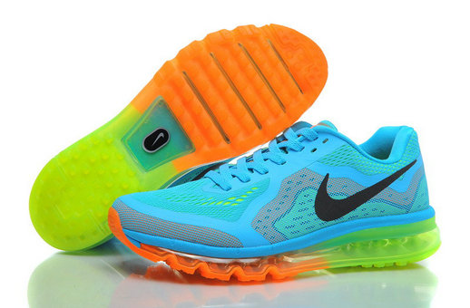 Nike Air Max 2014 Sky blue fluorescent green