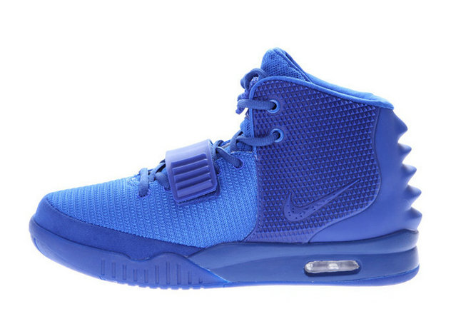 Nike Air Yeezy 2 Gamma Blue Glow in the Dark For Sale Online