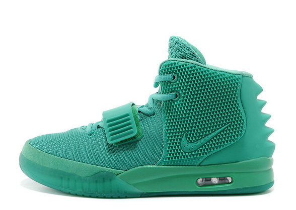 Nike Air Yeezy 2 Green Lantern Glow in the Dark 2014 For Sale Online