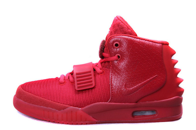 Nike Air Yeezy 2 Red October Glow in the Dark For Sale Online