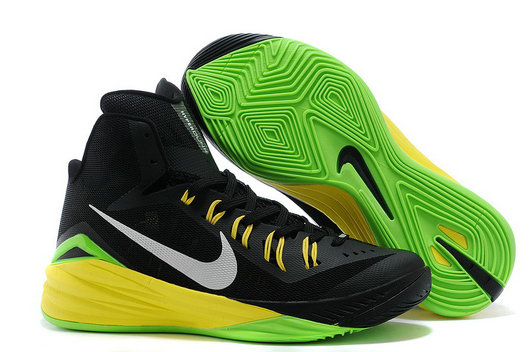 For Sale Nike Hyperdunk 2014 Black Metallic Silver Electric Green Online